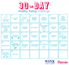 The 30 Day Healthy Eating Challenge Parents