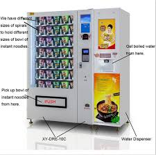 Water Dispenser Vending Machine Fascinating China Instant Noodles Vending Machine With Hot Water Dispenser