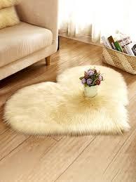 home plus carpet soft heart shaped washable bedroom living room study rug