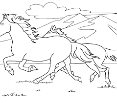 Horse Printable Coloring Pages Horse Coloring Pages Printable Of