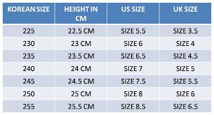 Dr Martens Size Chart Cm Korean Shoes Preorder 02 Yourpaperplanes Livejournal