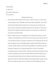 communicat nonverbal communication fiu page  3 pages breaking the rules essay