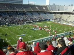 Methodical Cotton Bowl Stadium Seating Chart Rows Cotton