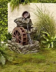 jet setter outdoor garden water fountain ideas 31 perfect outdoor rock fountains pixelmari 30 snazzy