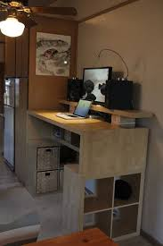 Addicted to IKEA Hacks - I love this standing desk | Projects to Try |  Pinterest | Ikea hack, Desks and Ikea hackers