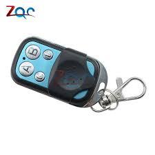 universal 4 channel wireless rf remote control duplicator copy 433mhz electric gate garage door key switch controller