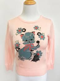 Hello There Sweater In Peach