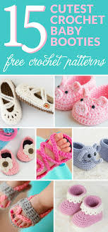 Baby Patterns Best 48 Of The Cutest Crochet Baby Bootie Patterns Dabbles Babbles