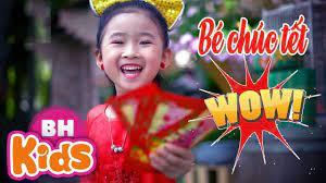 Bé Chúc Tết - Candy Ngọc Hà ♫ Nhạc Tết Thiếu Nhi - YouTube trong 2021