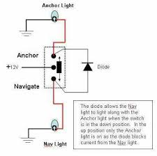 nav anchor light circuit page 2 the hull truth boating and navigation light switch wiring diagram at Boat Lighting Wiring Diagram