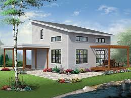 small modern house plan 027h 0457