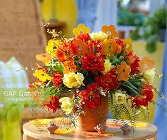 Wax Paper Flower Gap Gardens Tulipa Willem Van Oranje Kareol Yellow