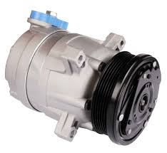 car air conditioning compressor. you can damage your car a/c compressor if run the air conditioning when