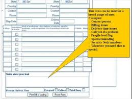 Online Bill Of Lading Form Free Online Bill Of Lading Shipping Form Youtube