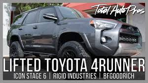 Custom Toyota 4Runner Trail | STAGE 6 Icon Lift Kit - YouTube