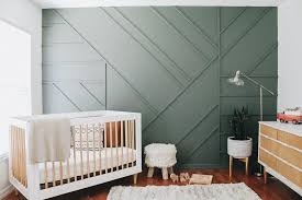 A cheerful nursery with an alphabet wall. 10 Showstopper Baby Nursery Accent Wall Ideas