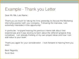 Interview Thank You Card Sample Thank You Note Email Sample Sick Example Notes Job