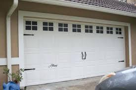 garage door trim ideas