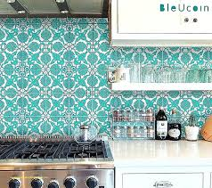 backsplash decals tile