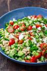 all white bean salad