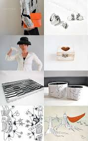 <b>Black</b>, White, Orange   <b>Floating nightstand</b>, Home decor, Decor
