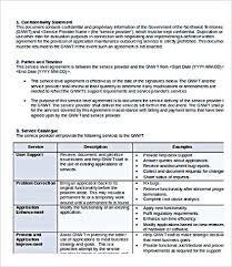 help desk service level agreement template service level agreement template functional photo outsourcing