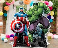 Avengers Party Decorations Avengers Party Inspiration Party Pieces Blog Inspiration
