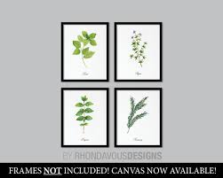 kitchen art herbs art print herb art herbs decor herbs kitchen art print kitchen wall art wall decor home decor ns 855