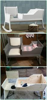 diy baby furniture. Modren Diy DIY Rocking Chair Crib Instruction  Baby Projects Free Plans Intended Diy Furniture Y