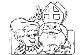 Kleurplaten Sinterklaas En Zwarte Piet Printen
