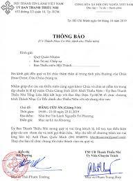 V/v Thánh Nhạc Cơ Đốc Dành Cho Thiếu Niên - Hội Thánh Tin Lành Việt Nam