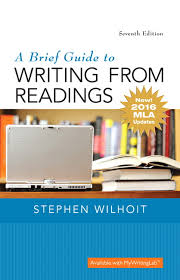 Mla Guidelines 2020 Wilhoit Brief Guide To Writing From Readings A Mla Update
