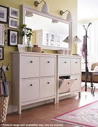 ikea hallway furniture. hemnes shoe cabinet with 4 compartments blackbrown ikea storage hallway furniture