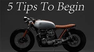 cafe racer 5 tips to begin your cafe racer design youtube