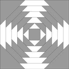 Free Pineapple Quilt Patterns: Illustrated Step-by-Step ... & Pineapple quilt block - dark 'X' Adamdwight.com