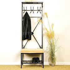 Pinnig Coat Rack Mudroom Furniture Cool Metal Entryway Storage Bench With Coat Rack 68