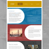 tamplate darkgray website templates