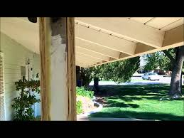 Decorative 4x4 Post Wraps How To Build A Porch Patio Columns From Scratch Youtube