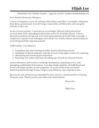 Free Generic Cover Letter For Resume Role Of Manager In Research