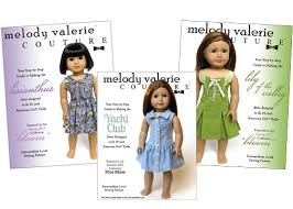 American Girl Clothes Patterns Inspiration Pattern Collection Liberty Jane Couture Doll Clothes And Sewing