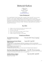 Resume For Primary Teacher Resume For Teachers Format Teacher