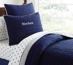 branson quilt twin navy gray