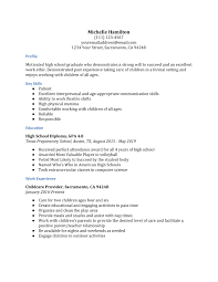 Search sample resumes by your professional industry. High School Resume Examples Resumebuilder Com
