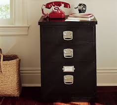 pottery barn file cabinet. Bedford 3-Drawer File Cabinet, Black Pottery Barn Cabinet