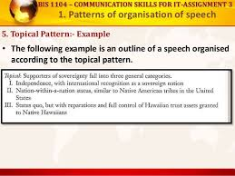 Topical Organizational Pattern Extraordinary Patterns Of Organization Of Speech And How To Lead Discussions And S