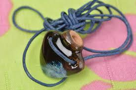 pendants ceramic aroma pendant handmade clay accessory eco friendly jewelry for women madeheart com