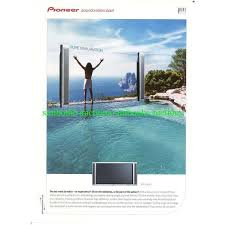 infinity pool united states. Pioneer Plasma TV Infinity Pool Vintage Magazine Ad Advert 4234 United States