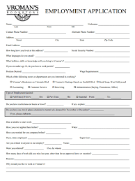 job application questions vromans job application form for career opportunities at bookstore