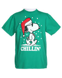 Green Snoopy Christmas T-Shirt - M | Christmas Jumpers | Rokit ...