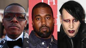 Kanye West Joined By Marilyn Manson ...